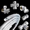 Трубы металлопластиковые, фитинги и арматура