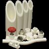 Трубы полипропиленовые, фитинги и арматура