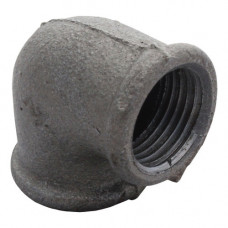 Угольник чугун проходной Ду15 Fittex
