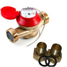 Счетчик для горячей и холодной воды ОСВУ-25 ГД Ду25 Ру16 Т90С в комплекте универсальный ПК Прибор