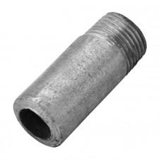 Резьба удлиненная оцинкованная Ду15 L=50мм КАЗ из труб по ГОСТ 3262-75