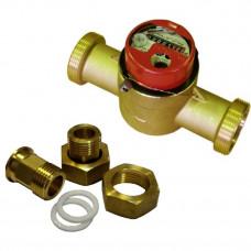 Счетчик для горячей воды СКБ-25 Ду25 Ру16 Т90C в комплекте Водоприбор