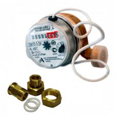 Счетчик универсальный импульсный СВК-15-3-2И Ду15 L=110 Ру10 Т90С в комплекте Арзамас