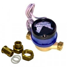 Счетчик холодной воды импульсный ВСХд-15 Ду15 L=110 Т50C 1л/им в комплекте Тепловодомер