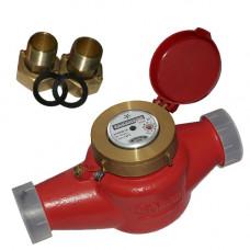 Счетчик для горячей воды ВСКМ 90-50 Ду50 Ру10 Т120С с наружной резьбой в комплекте ПК Прибор
